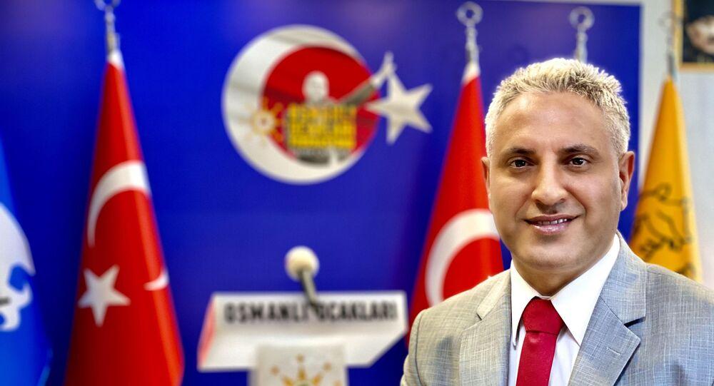 Osmanlı Ocakları Genel Başkanı Kadir Canpolat