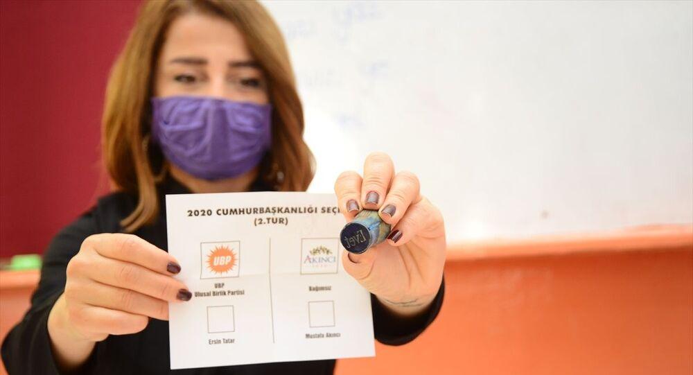 Kuzey Kıbrıs'ta cumhurbaşkanlığı seçiminin ikinci turu