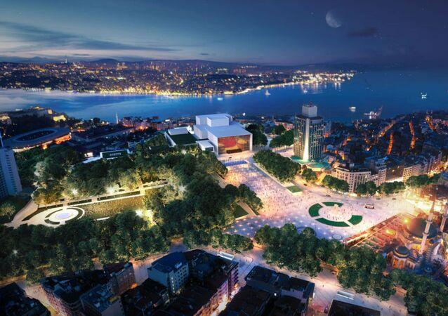 Taksim, 16 Sıra Numaralı Proje, oylama