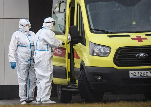 koronavirüs, ambulans, Rusya