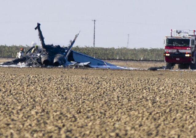 ABD'nin Kaliforniya eyaletinde konuşlu ABD Donanmasına bağlı bir F/A-18E Super Hornet tipi savaş uçağının eğitim uçuşu sırasında düştüğü ve pilotun koltuk fırlatma yöntemi ile atlayıp kurtulduğu bildirildi.