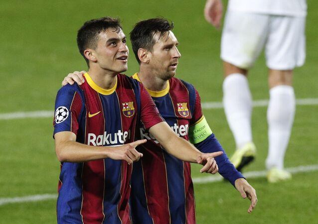 Pedri-Messi