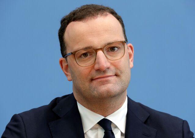Almanya Sağlık Bakanı Jens Spahn