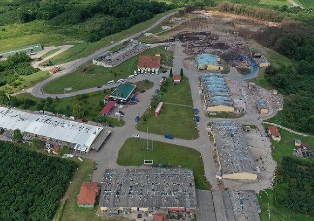 Sakarya'daki havai fişek fabrikasında meydana gelen patlama