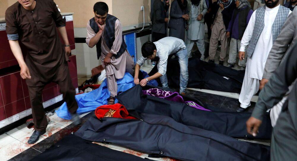 Afganistan'ın başkenti Kabil'deki Kevser Danış Eğitim Merkezine düzenlenen intihar saldırısında 18 kişi hayatını kaybetti.