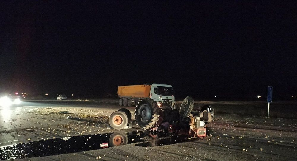 Konya'da kaza, kaza yeri,