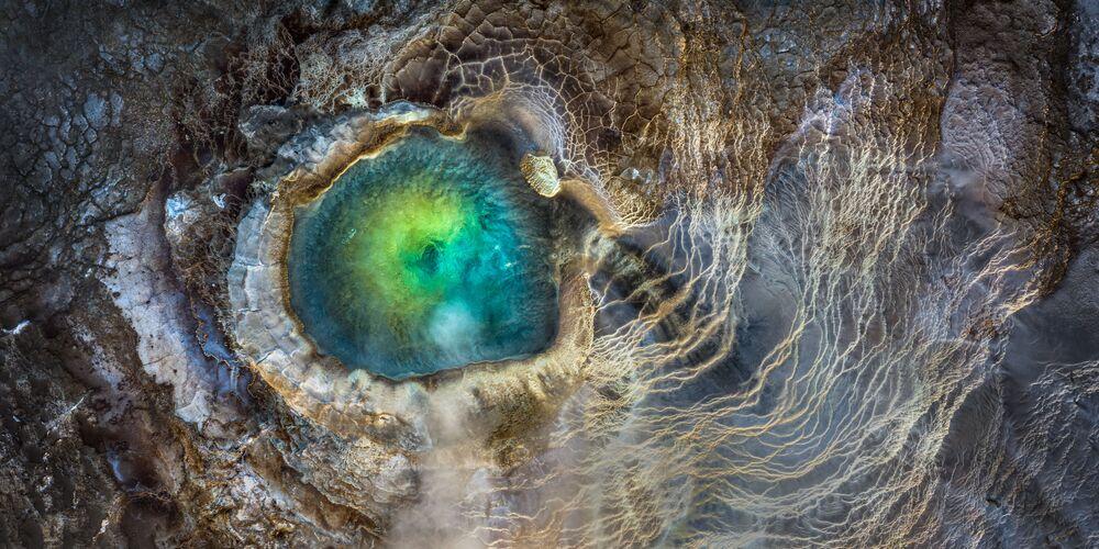 2020 Epson Uluslararası Panoramik Fotoğraf Yarışması'nın Açık Doğa_Manzaralar kategorisinde ikincilik ödülünü kazanan ABD'li fotoğrafçı Manish Mamtani'nin Dragon Eye çalışması