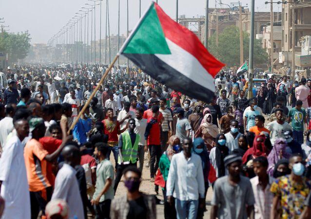 Sudan - Hartum - bayrak