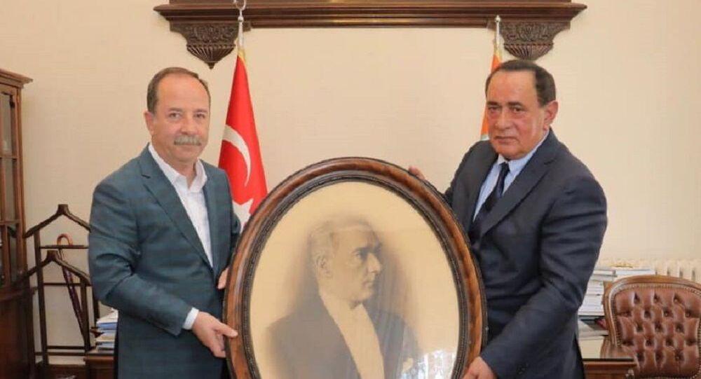 CHP'li  Edirne Belediye Başkanı Recep Gürkan, Alaattın Çakıcı