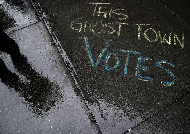 ABD - seçim - ABD′de erken oy kullanma - oy verme - New York