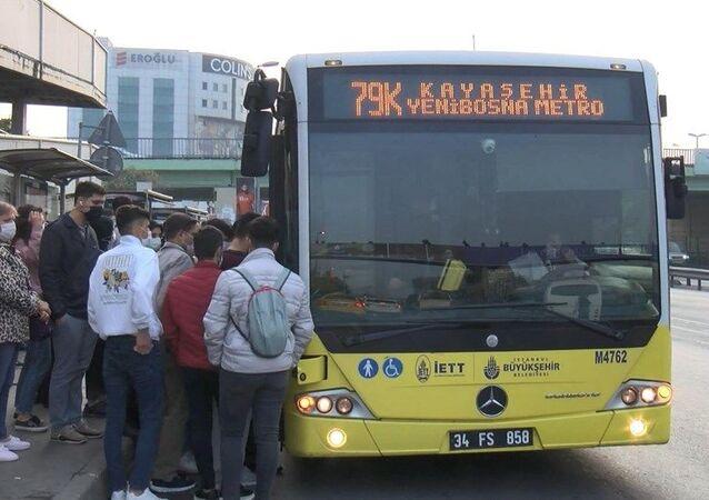 Yenibosna, otobüs, toplu taşıma, koronavirüs
