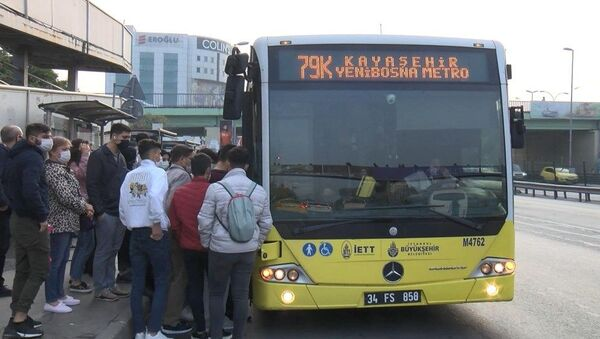 Yenibosna, otobüs, toplu taşıma, koronavirüs - Sputnik Türkiye