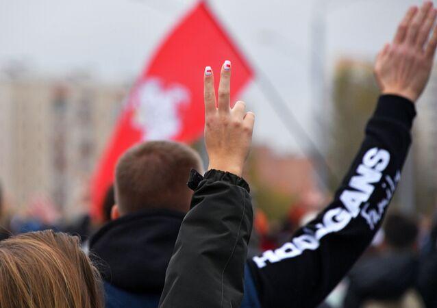 Belarus - Minsk - gösteri