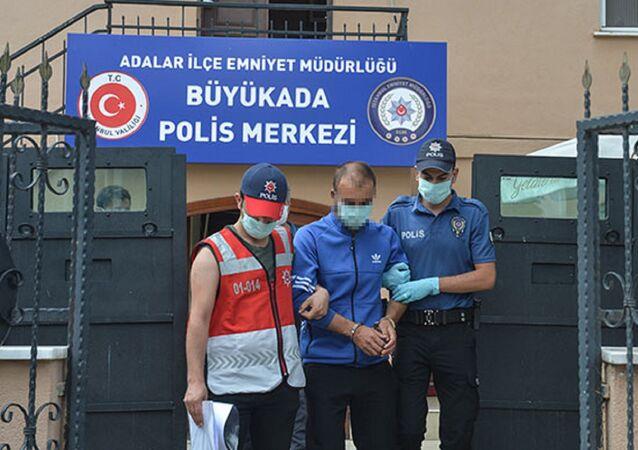 Heybeliada'da orman yakan Sedat Demir
