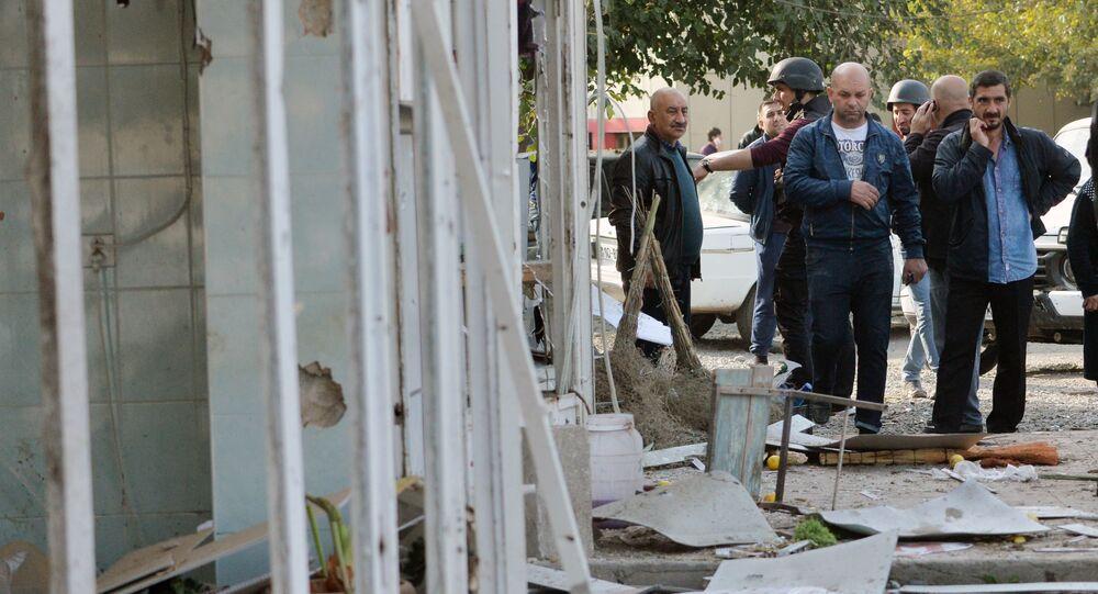 Azerbaycan-Ermenistan gerilimi, Barda