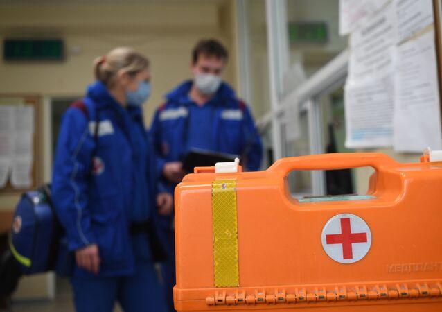koronavirüs, sağlık çalışanları, Moskova, Rusya