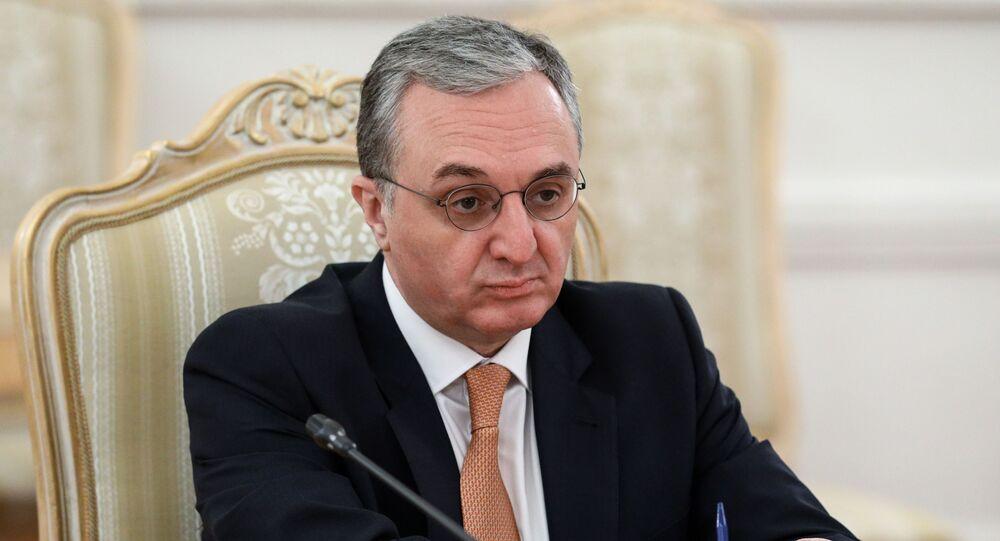 Ermenistan Dışişleri Bakanı Zohrab Mnatsakanyan