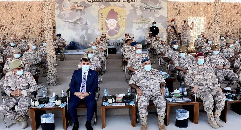 Katar'da Türkiye'nin katılımıyla düzenlenen NASR 2020 askeri tatbikatı sona erdi