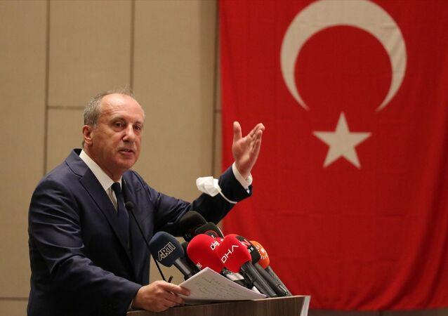 Eski CHP Milletvekili Muharrem İnce