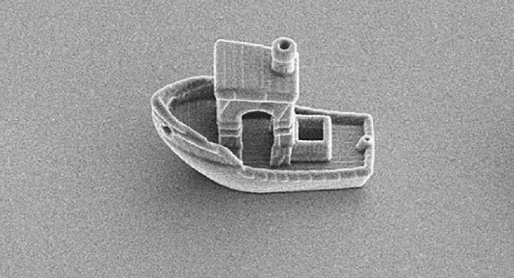 30 mikrometre boyutunda dünyanın en küçük teknesi
