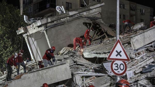 İzmir, deprem - Sputnik Türkiye