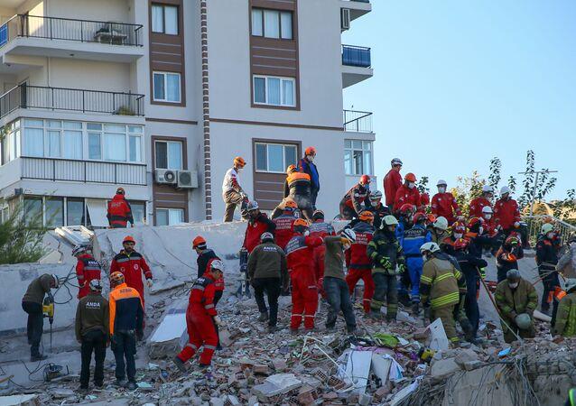 İzmir - deprem - bayraklı