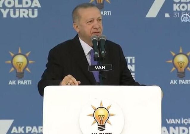Cumhurbaşkanı ve AK Parti Genel Başkanı Erdoğan, Van'da partisinin 7. Olağan İl Kongresi'nde konuştu.