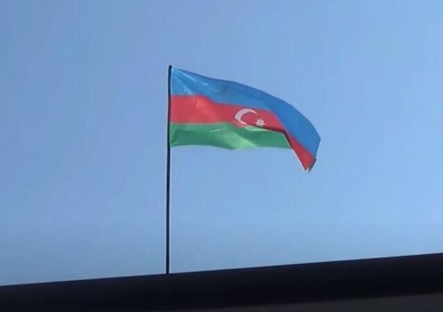 Azerbaycan bayrağı