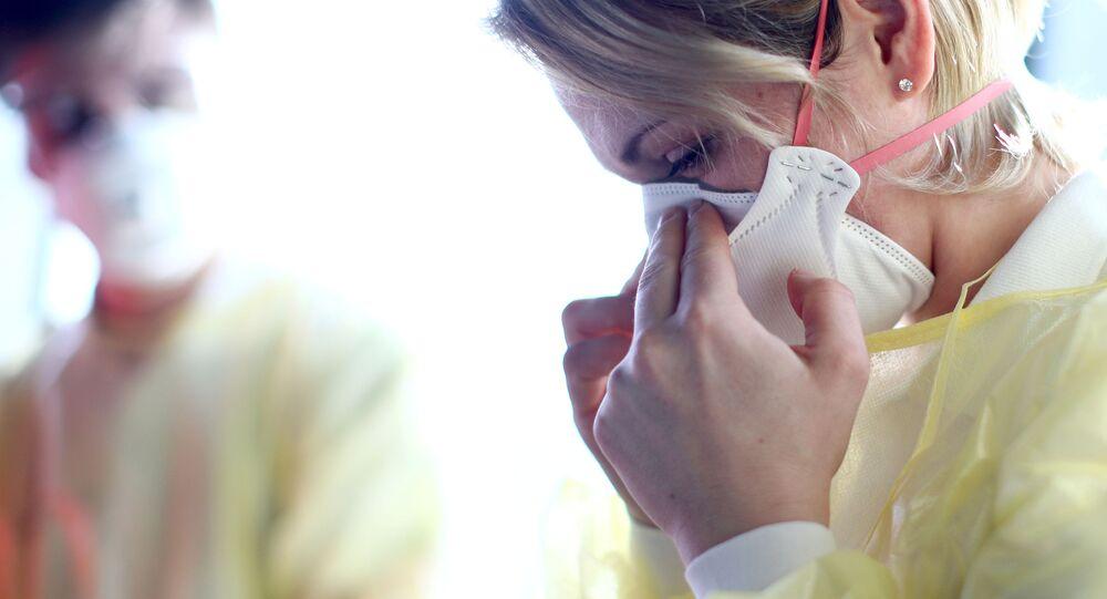 Avusturya - maske - koronavirüs -Viyana Uluslararası Havalimanı