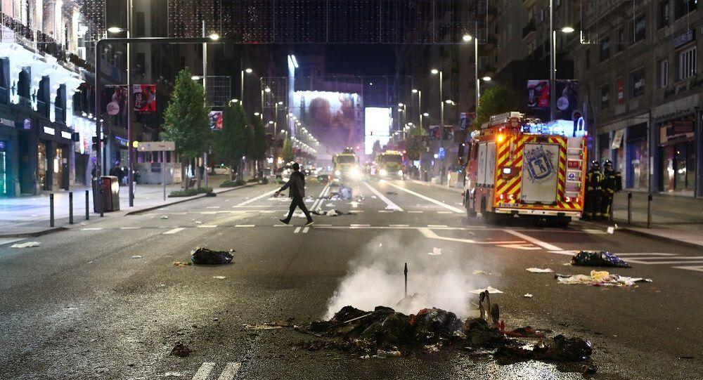 İspanya, gösteri, protesto