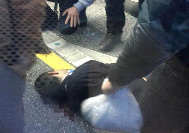 Avcılar'da metrobüsün çarptığı yaya