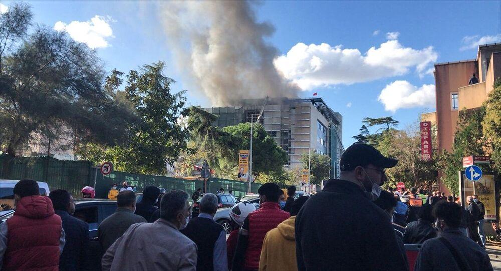 Çapa Tıp Fakültesi'nde yangın