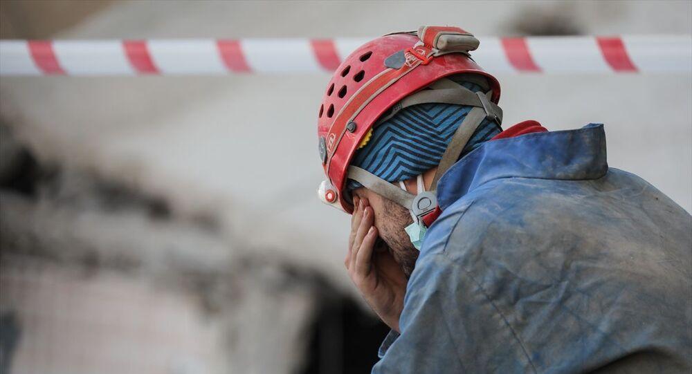 Türkiye Mağaracılık Federasyonu Arama Kurtarma ekibinden Tahsin Kaymak
