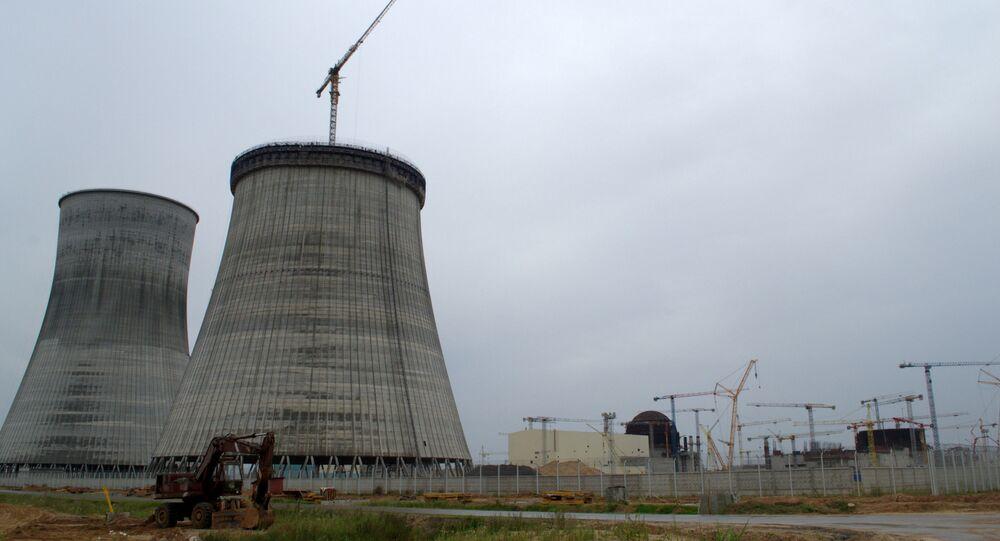 Ostrovets'teki Belarus Nükleer Güç Santrali (BelNPP)