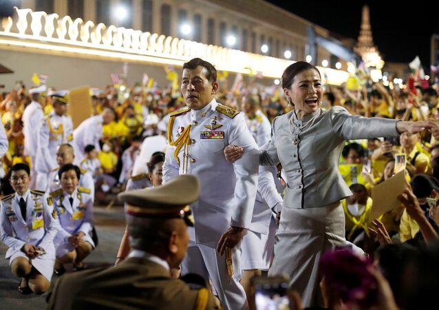 Tayland Kralı Maha Vajiralongkorn ve Kraliçe Suthida