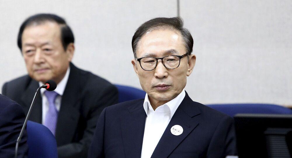 Güney Kore'nin eski Cumhurbaşkanı Lee Myung-bak