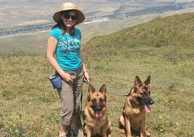 Tania Blackwell köpekleriyle