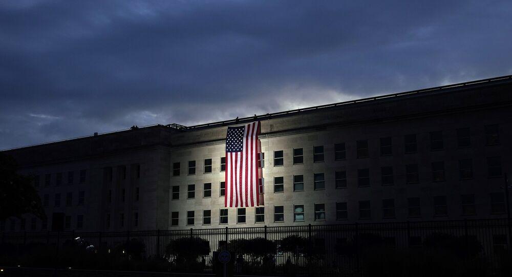 Pentagon, ABD bayrağı