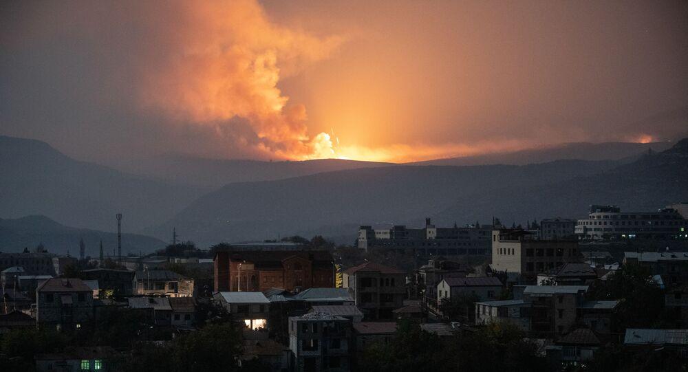 Azerbaycan-Ermenistan gerilimi, Stepanakert güney doğusu, Dağlık Karabağ