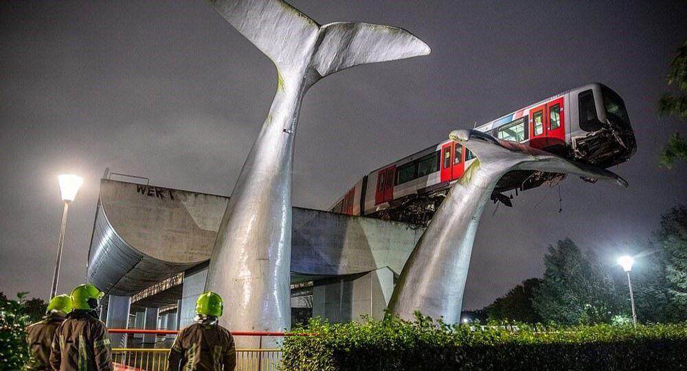 Hollanda - tren kazası