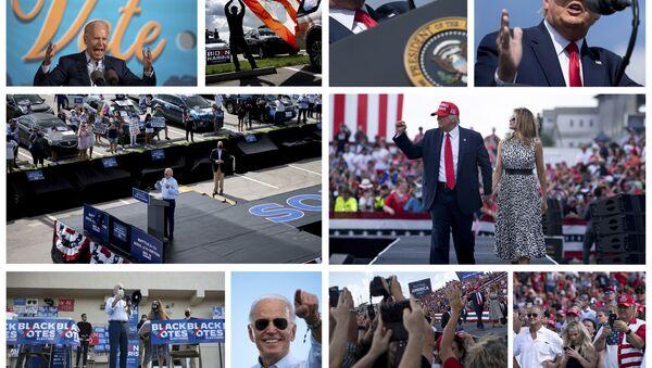 ABD Başkanlık Seçimleri - Trump - Biden - Sputnik Türkiye