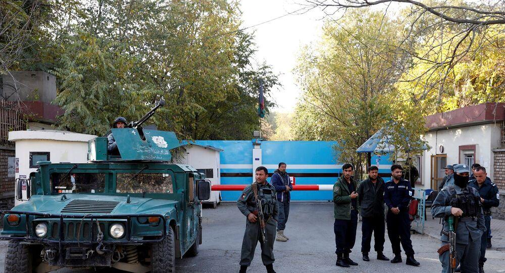 Afganistan - Kabil Üniversitesi - Afgan polis