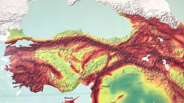 Deprem haritası - Kasım 2020 / DHA - Sputnik Türkiye