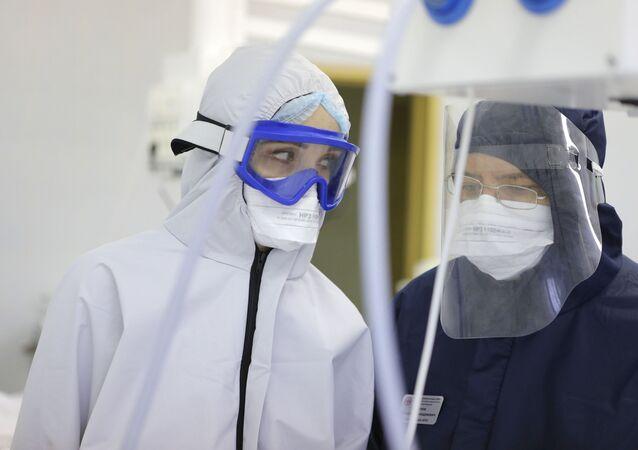 hastane, koronavirüs, Rusya