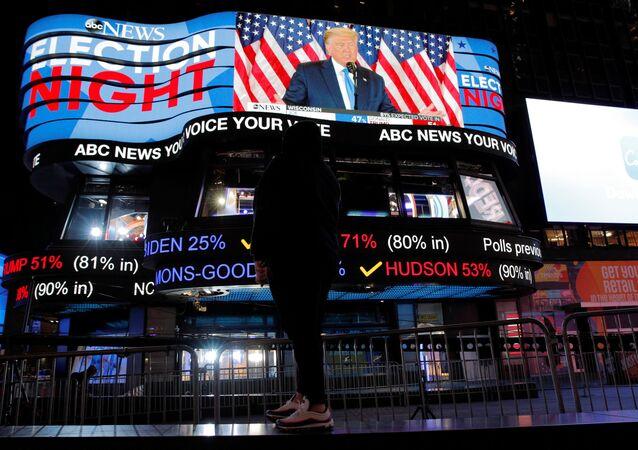ABD - seçim - başkanlık seçimi - Donald Trump'ın fotoğrafı