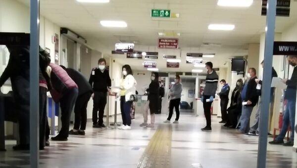 Hastane, koronavirüs testi - Sputnik Türkiye