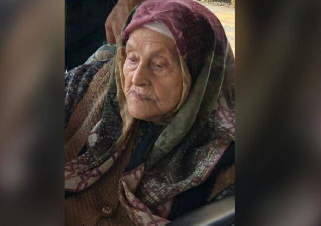 109 yaşında koronavirüsü yenen Penbe Peker