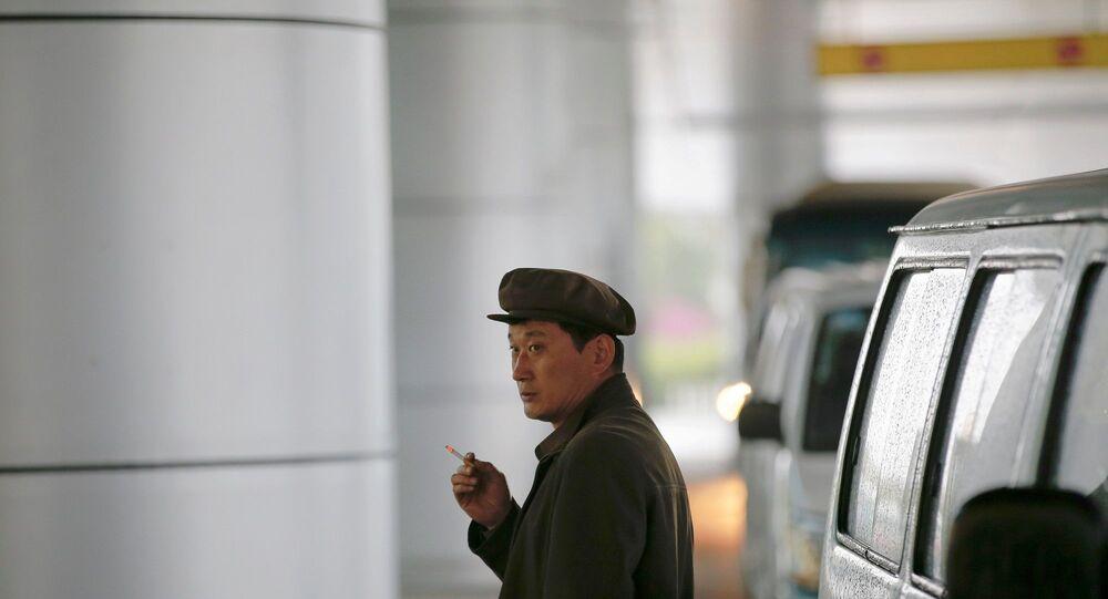 Kuzey Kore - sigara -