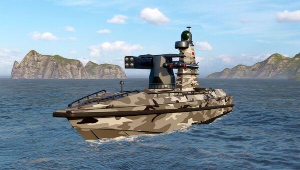Türkiye'nin ilk silahlı insansız deniz aracı SİDA - Sputnik Türkiye