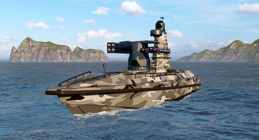Türkiye'nin ilk silahlı insansız deniz aracı SİDA